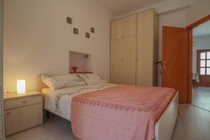 Postelja oz. postelje v sobi nastanitve Zigante