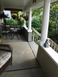 A balcony or terrace at Your Oasis in Niagara Falls Canada