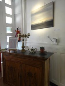 A bathroom at Studio au Centre d'Art ARKAD
