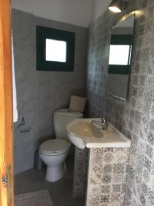 A bathroom at Razos Windmill