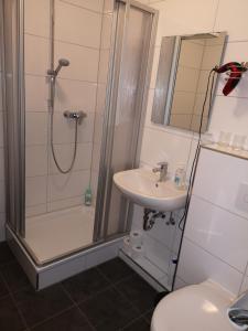 Ein Badezimmer in der Unterkunft Ferienwohnung Hölscher