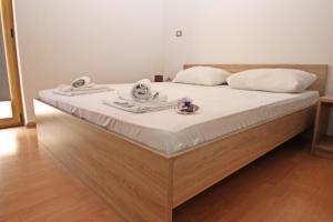 Postelja oz. postelje v sobi nastanitve villa Jessica