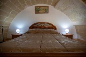 Letto o letti in una camera di La Casa di Montegrosso
