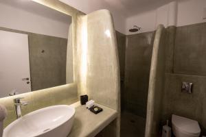 Ένα μπάνιο στο Thea Luxury Resort
