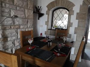 A restaurant or other place to eat at EX-MINERS COTTAGE, BLAENAVON, NEAR ABERGAVENNY