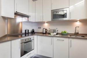 Küche/Küchenzeile in der Unterkunft Selton Plaza España