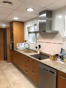 Küche/Küchenzeile in der Unterkunft Atico Plaza Constitución Benicarlo