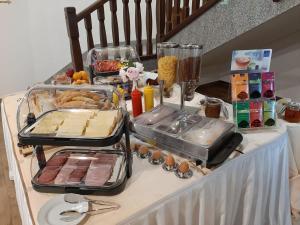 Možnosti snídaně pro hosty v ubytování Club Rezidence Pod Lučí