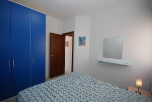 Letto o letti in una camera di Appartamento Rosina