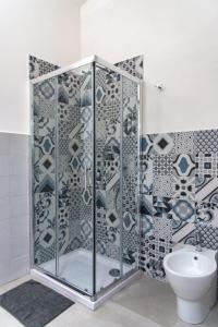 A bathroom at Casa Vacanze Al Duomo Ibla