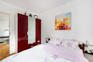 Posteľ alebo postele v izbe v ubytovaní Apartment Zg365