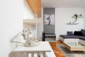 Kuchyňa alebo kuchynka v ubytovaní Apartment Zg365