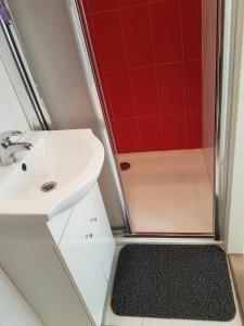 Salle de bains dans l'établissement Prague Private Apartments