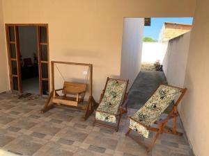 Uma área de estar em Sua Casa em Cavalcante