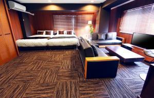Oriental Nihonbashi 객실 침대