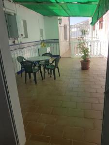 A balcony or terrace at Casas de Poniente