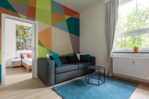 Posezení v ubytování Avantgarde apartments