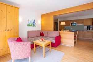 Część wypoczynkowa w obiekcie Allegra Wohlfühl Appartements