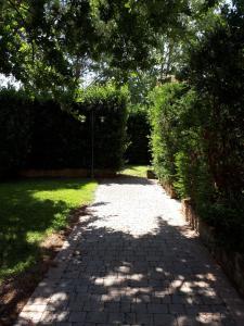 A garden outside Villaggio Turistico Airone