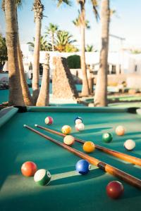 A pool table at Nautilus Lanzarote