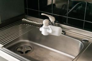 Kylpyhuone majoituspaikassa Il sole Kujo
