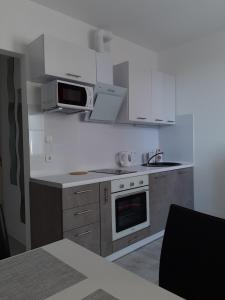 A kitchen or kitchenette at Danchenko`s apartment