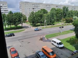 Общий вид на город Гомель или вид на город из апартаментов