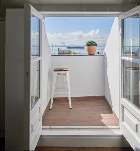 Balkon lub taras w obiekcie Lisbon Best Choice Apartments Alfama