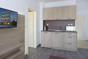 A kitchen or kitchenette at Complex Moskoyani