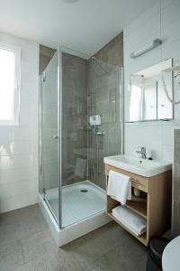 Kúpeľňa v ubytovaní Barack Thermal Resort Apartments