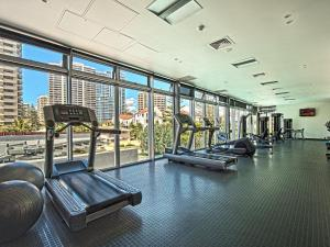The fitness center and/or fitness facilities at Private Luxury 2 Bed at Q Surfers Paradise