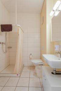 Ein Badezimmer in der Unterkunft Anstatthotel.ch Hochdorf