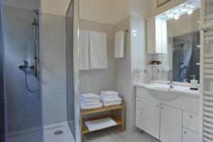 Kúpeľňa v ubytovaní Art Gallery Dalmatinska