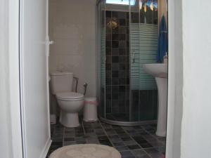Een badkamer bij Villa Pavlina