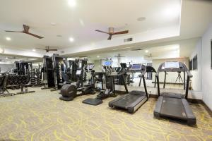 The fitness center and/or fitness facilities at Sonder — Southtown Apartments