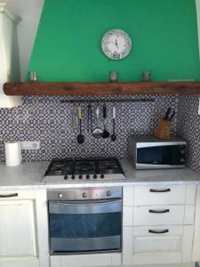 A kitchen or kitchenette at Villa Annu'