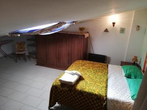 Letto o letti in una camera di Holiday Home Lago del Salto