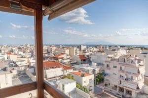 A general view of Alexandroupoli or a view of the city taken from the apartment