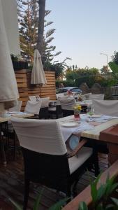 Restoranas ar kita vieta pavalgyti apgyvendinimo įstaigoje Belle Ocean Apart Otel