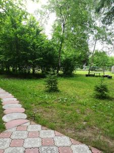 A garden outside Комплекс Отдыха Беликово