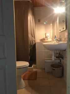 A bathroom at Gîte et crêperie U Fornu