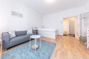 Гостиная зона в Apartment near Naschmarkt