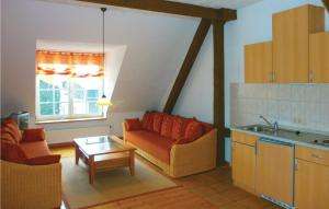 Küche/Küchenzeile in der Unterkunft Apartment Birkenallee Z