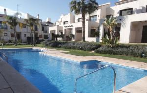 The swimming pool at or near Two-Bedroom Holiday home San Javier 0 01