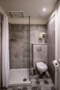 A bathroom at Levkosh Apartments at Lefkada's Heart
