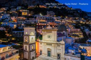 Una vista aérea de Villa Flavio Gioia