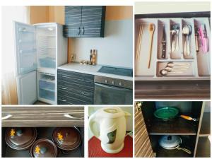 Кухня или мини-кухня в Apartment u Tanka