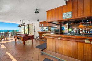 The lounge or bar area at Ocean View Studio 49A