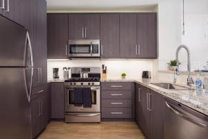 A kitchen or kitchenette at SD Penthouse Masterpiece