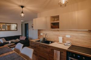 A kitchen or kitchenette at APARTMA 7